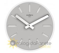 orologio di design grigio rotondo alioth