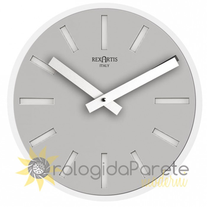 ALIOTH SILVER WALL CLOCK