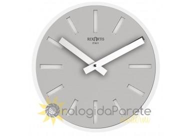 Grey wall clock, rexartis