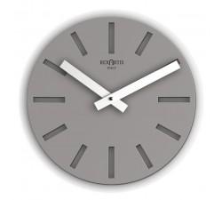 orologio di design grigio scuro rotondo alioth