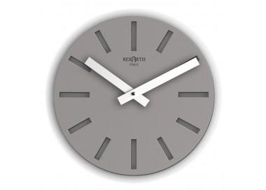 clock design dark gray round alioth