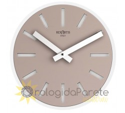 Light taupe wall clocks