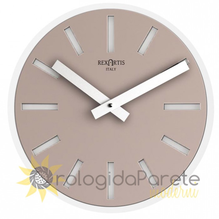 ALIOTH LIGHT TAUPE WALL CLOCK