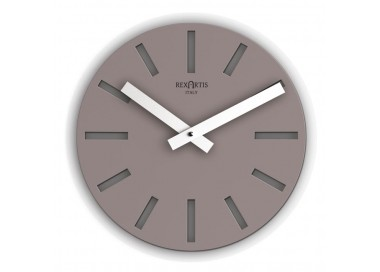horloge ronde murale tortora