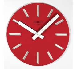 WALL CLOCK MERAK RED