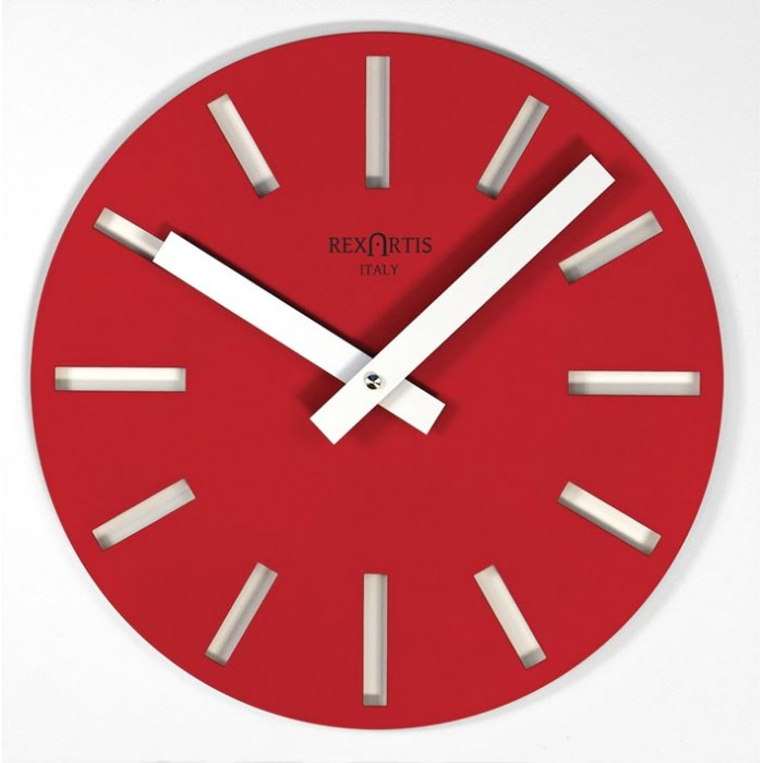 wall clocks are beautiful, merak red