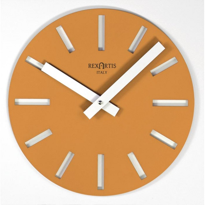 WALL CLOCK MERAK YELLOW GOLD
