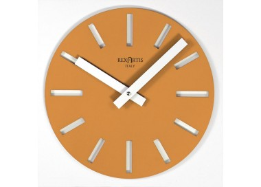 wall clocks colorful, merak rexartis yellow gold