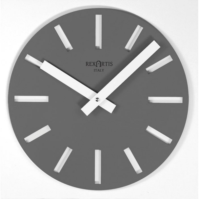 WALL CLOCK MERAK GREY