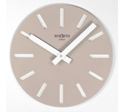 LIGHT TAUPE WALL CLOCK MERAK