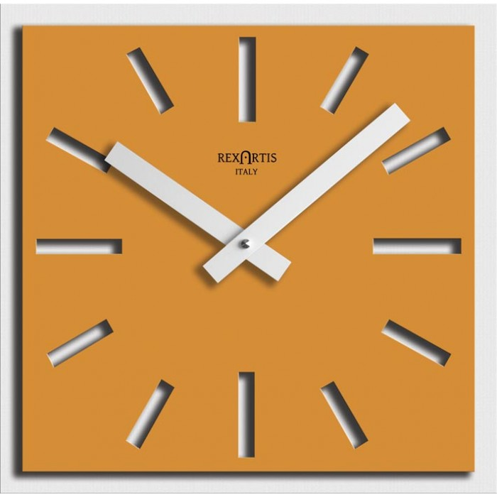 YELLOW WALL CLOCK NAOS