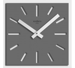 GREY WALL CLOCK FOR HOME, NAOS REXARTIS