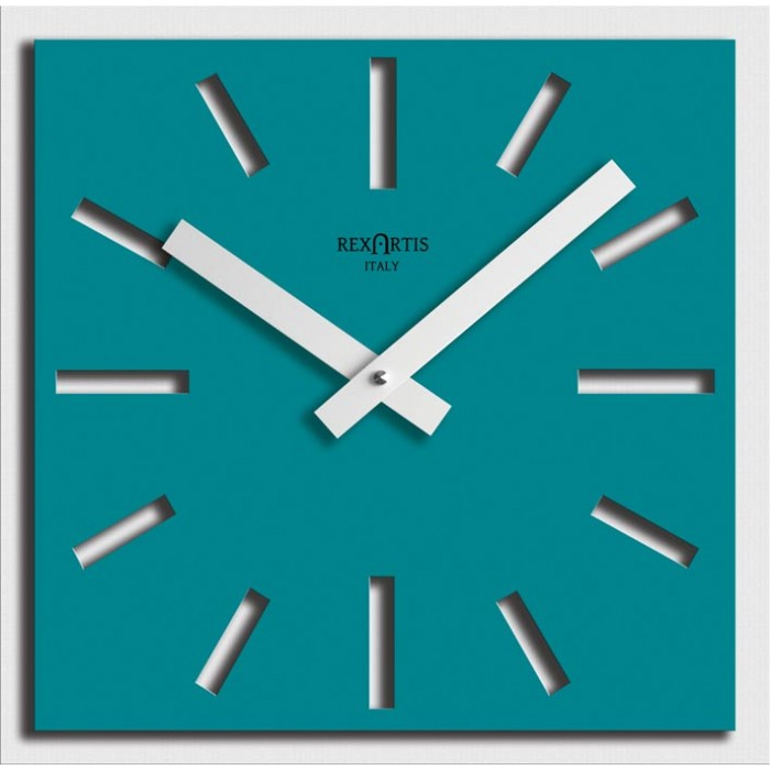 wall clocks for home, aquamarine naos rexartis
