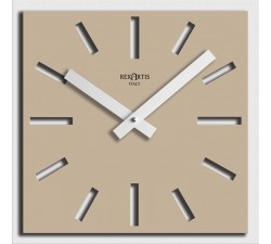 LIGHT TAUPE WALL CLOCK NAOS, DESIGN WALL CLOCKS