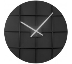 wall clocks large, wooden, rexartis square black