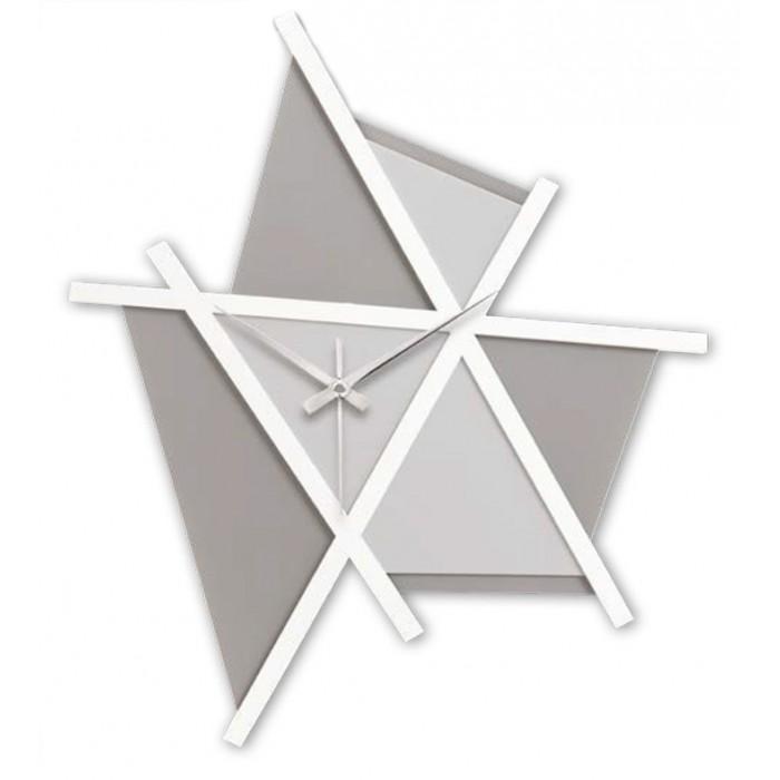 GRANDE HORLOGE, de la géométrie de la PAROI en BOIS MODERNE