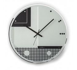 Orologio in Vetro Serigrafato modello da parete