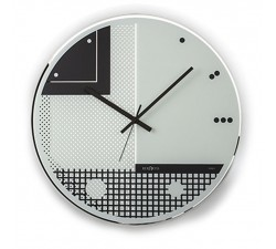WALL CLOCK MODEL STRANGE WHITE