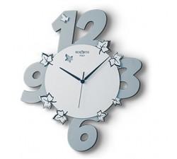 Orologio decorativo in legno laccato modello da parete