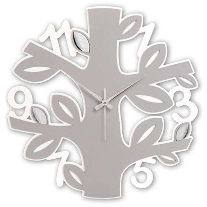 CLOCK DECORATIVE ROUND TREE OF LIFE