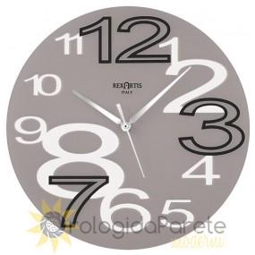 Wall clock Rexartis Young Taupe