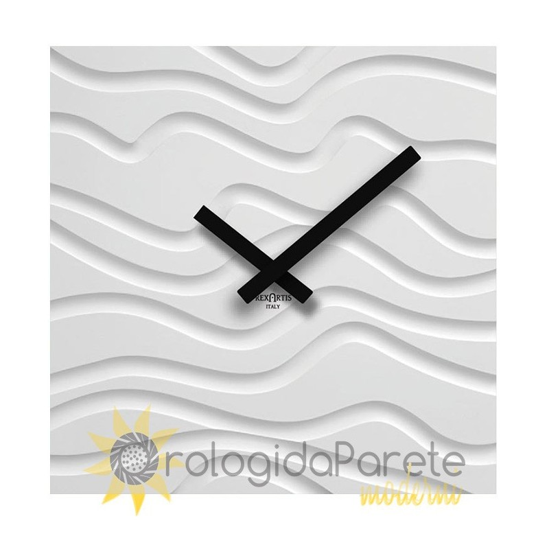 WALL CLOCK DESERT IN LACQUERED WOOD