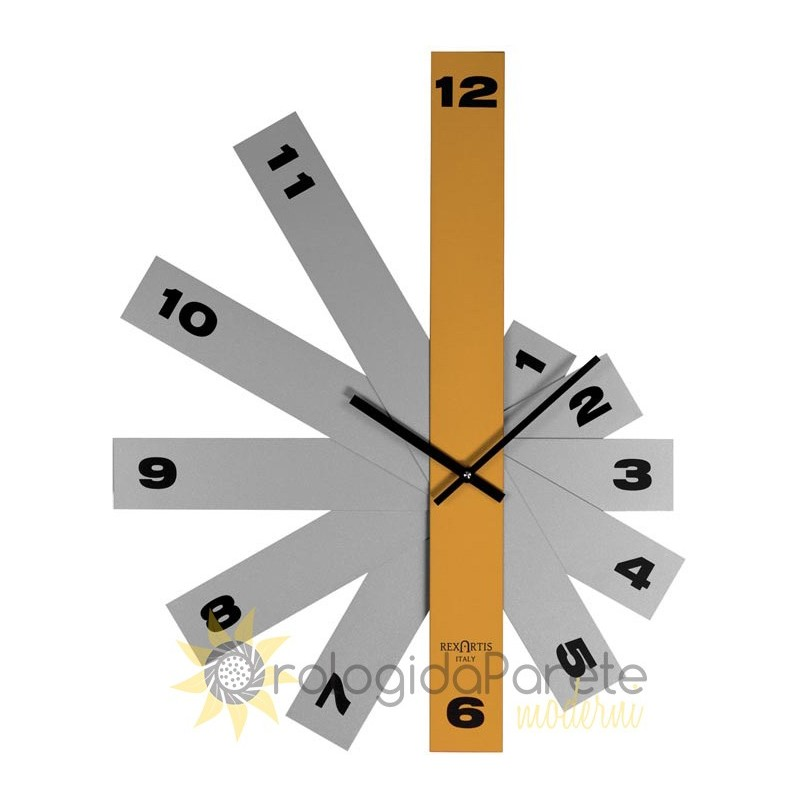 WALL CLOCK MODERN DELTA METAL