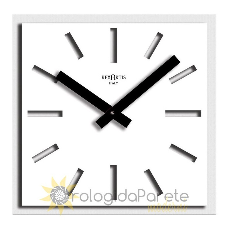 WALL CLOCK NAOS WHITE