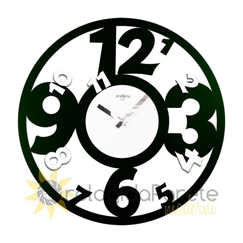Orologio da Parete Moderno Rotondo in Legno | Orologidapareatemoderni
