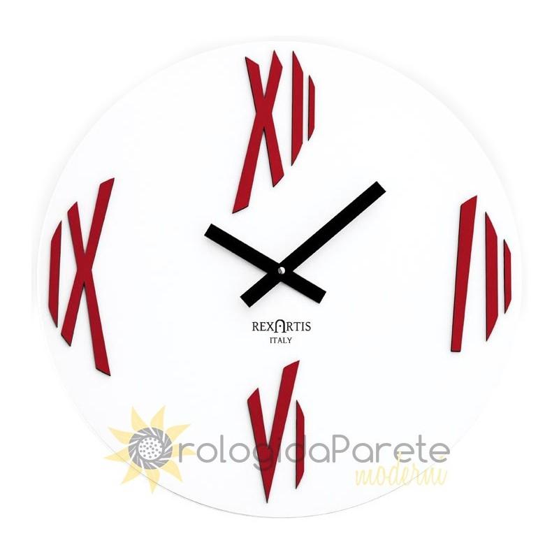 Orologio di Design da parete in legno opera rexartis modern wall clock