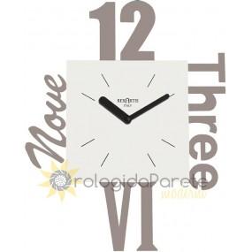 orologi da muro particolari, variety tortora rexartis