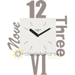 MODERN AND DESIGN WALL CLOCK IN METAL
