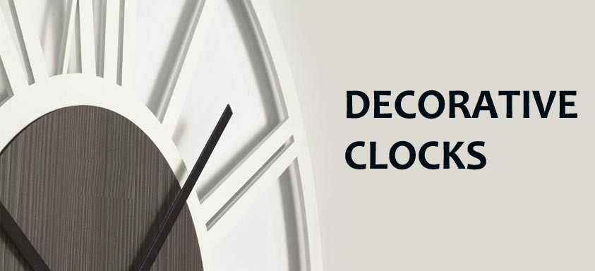 Decorative Wall Clocks  Kitchen, living room, office