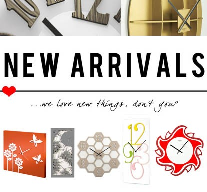 Wall Clocks new arrivals