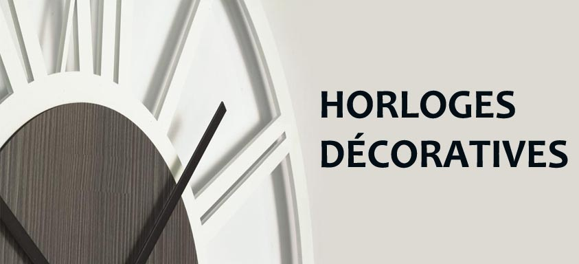 Horloges Décoratives